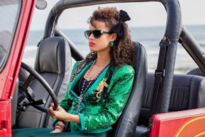 Summer 2017 Party Outfit Trends Inspired by Kelly's 80s San Junipero