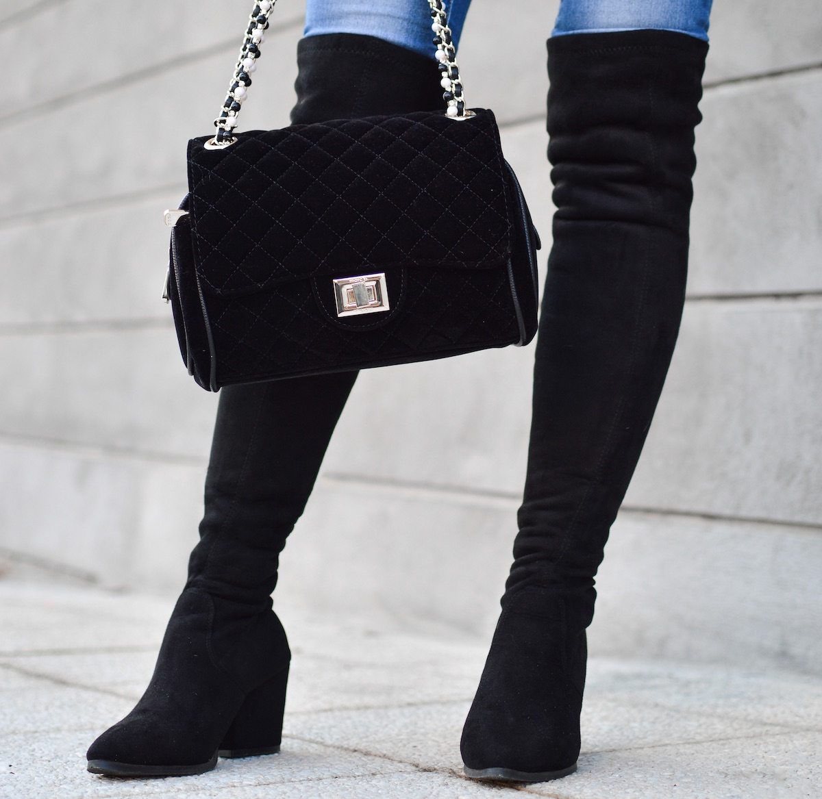 matching shoes and bags